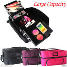 Portable Multifunction Professional Beauty Makeup Case Cosmetics Bag Organizer