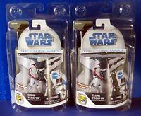 "2008 Hasbro STAR WARS CLONE TROOPER SENATE SECURITY 3.75"" ACTION FIGURE SDCC NEW"