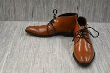 Calvin Klein Rolando 34F1614 Chukka Boots, Men's Size 9.5, Cognac