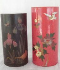 Two Vintage Oriental Tea Canisters. Tea in Style!