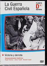 LA GUERRA CIVIL ESPAÑOLA: VICTORIA Y DERROTA de David Hart. DVD AGOTADO.