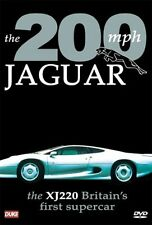 The 200 mph Jaguar (New DVD 2004) The XJ220 Britain's First Supercar