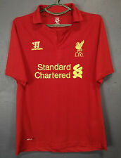 WARRIOR FC LIVERPOOL 2012/2013 HOME SOCCER FOOTBALL SHIRT JERSEY CAMISETA SIZE M
