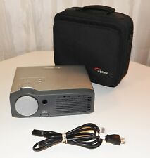 OPTOMA EP745 PROJECTOR DMD PROJECTION DISPLAY WITH CASE, CORD & EP 745