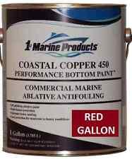 Coastal Copper 450 Multi-Season Ablative Antifouling Bottom Paint Red Gallon