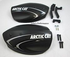 Arctic Cat ATV Black  Hand Guards Wind Guards C Listing 4 Fitment 0436-505