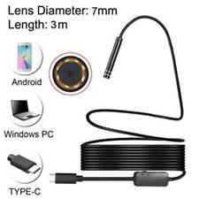 8mm 2MP 8LED 3M Android Tel/éfono USB Tipo C USB-C Endoscopio Micro C/ámaras