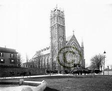 "Boston, MA Catholic churches ""ST. PETER'S CHURCH MEETING-HOUSE HILL"" © 1892 Repr"