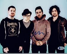 Pete Wentz  Signed Autographed 8x10 Photo FALL OUT BOY Beckett BAS COA