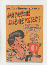 Natural Disasters #1 - Lil Abner Cover - (Grade 4.0) 1956