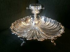 Crescent 9-13S Fish Footed Clam Serving Dish