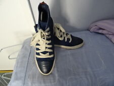 MEN'S STEVE MADDEN SUEDE LEATHER BOOTLIKE LACE UP SHOES SZ EU 38 GREAT CONDITION