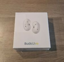 Samsung Galaxy Buds Live ANC Earbuds Mystic White Headphones New & Sealed