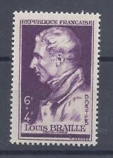 LOUIS BRAILLE N° 793 - NEUF SANS CHARNIERE - LUXE