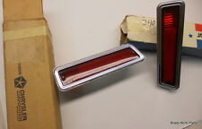 NOS Mopar 1970 1971 Dodge Dart Swinger Plymouth Scamp REAR SIDEMARKER LAMPS pair