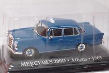 ALTAYA MERCEDES 200D ATHENS  1965  1:43