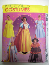 Child Snow White Fairy Princesses Rupunzel Costume Pattern 2856 Size 7 8 10