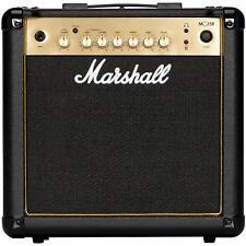 MG15GR Black & Gold amplificador para guitarra eléctrica