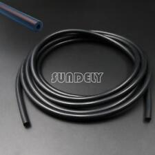 Silicone 3mm x 5m Vacuum Hose - Tube - Boost - Water - Pipe Line Black AU