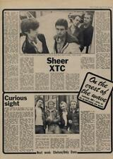 XTC Johnny Curious Interview/article 1977
