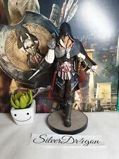 "Assassins Creed 2 II Black Edition Ezio Auditore Statue Figurine 7"" only"