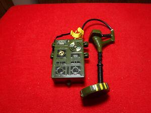 2001 Lanard Metal Detector Mine Sweeper GI Joe Style Excellent Battery Operated