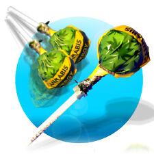 10 Stück Hanf Lolly Energy Koffein und Taurin Lollies Cannabis Lutscher Energy