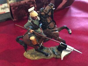 KING & COUNTRY 1914 German Uhlan Lancer 2~ Near Mint in Box