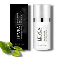 LE'VEA Under Eye Wrinkle Cream Fast Eye Puffiness Repair Eye Cream 0.5 OZ - USA