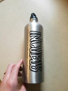Incubus Monuments Melodies 2009 Tour Aluminum Water Bottle BRAND NEW Concert