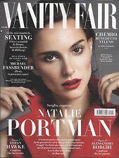 Vanity Fair Italian magazine Natalie Portman Michael Fassbender Ethan Hawke