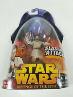 Hasbro Star Wars: Revenge of the Sith Obi-Wan Kenobi Slashing Attack Figure