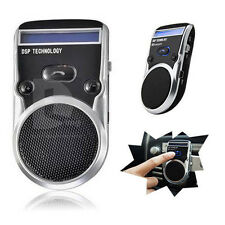 Bluetooth Car Kit Solar Powered Handsfree Speakerphone Speaker for Cellphone UK