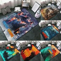Godzilla VS Kong Area Rug Soft Carpet Floor Mat Home Decor Modern Flannel Rug