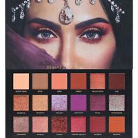 18 Colors Shimmer Matte Eyeshadow Palette set Makeup Cosmetic Beauty X-mas Gift