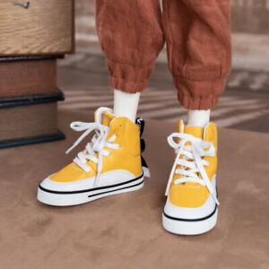1/4 1/3 Uncle BJD High Cut Board Shoes Fashion Yellow Sneaker Street Boy AOD DZ