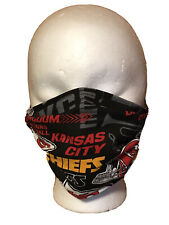 Kansas City Chiefs Handmade Face Mask