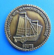 """#9129# Médaille jeton """"Tweedaagse van vlaanderen blankenberge"""""""