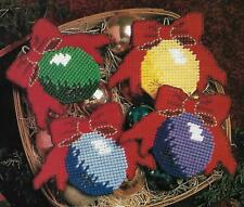 Christmas Ornament Coasters plastic canvas PATTERN INSTRUCTIONS
