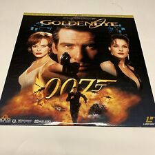 Laserdisc Video Laser Disc Golden eye pierce brosnan james bond