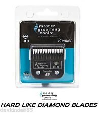 HLD(LIKE TITANIUM)PRO Pet Grooming 4F(4FC)Blade*Fit Andis,Oster A5/AG/BG Clipper