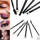 24PCS Pro Makeup Brush Set Cosmetic Tool Kit Eyeshadow Flat Powder Eye Brush Set