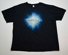 2012 Evanescence Amy Lee Tour Dates Shine Tshirt Sz Xl Tampa Biloxi