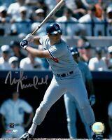 Mike Marshall Signed 8X10 Photo Autograph LA Dodgers Road Two Line Auto COA