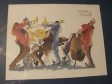 """""""New Orleans"""" by Leo Meirsdorff hand-signed Framed"""