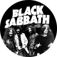 IMAN/MAGNET BLACK SABBATH . ozzy osbourne randy rhoads judas priest pentagram