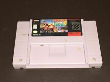 Donkey Kong Country 3 III Super Nintendo Snes Cleaned & Tested