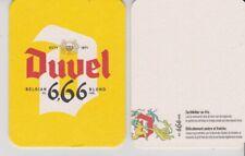 BR. MOORTGAT - DUVEL 6,66  //  NIEUW bierviltje - coaster