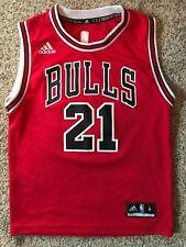 408a45c482a NBA Chicago Bulls Jimmy Butler Basketball Jersey Adidas Sz M Boys Youth