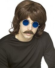Rubie's Costume Characters 70's Shag Brown Wig, Brown, One Size